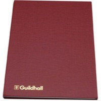 Guildhall Wages Book 298x203mm 40 Employee 302H
