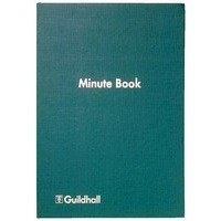 Image for Guildhall Minute Book Indexed 160 Pages 32M