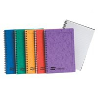 Europa Notemaker Book Sidebound Ruled 80gsm 120 Pages A5 Assorted A Ref 4850Z [Pack 10]
