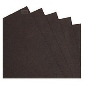 Goldline Coloured Card Smooth 200gsm 25 Sheetsk 700x500mm Black Code GCC3235