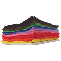 Image for Clairefontaine Small Crepe Paper Assorted Pk 500