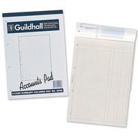 Guildhall Account Pad 6-Column Cash A4 GP6
