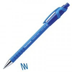 PaperMate Flexgrip Retractable Ballpoint Pen Blue S0190433