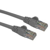 Connekt Gear Snagless Network Cable RJ45 Cat6 Grey 3m (Pack of 1) 31-0030G