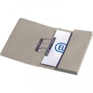 Elba Stratford Spring Pocket File Foolscap Buff 100090145