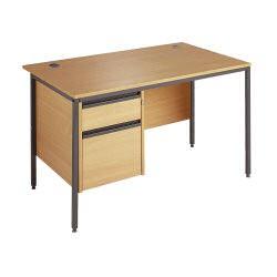 Maestro 1228 Desk 2 Drawer Ped B