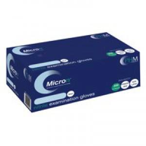 Handsafe Powder-Free Nitrile Gloves Blue Medium Pack of 200 GN90