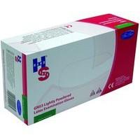 Handsafe Polypropylene Latex Gloves Small Pack 100 Natural GN03