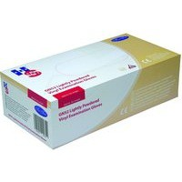 Handsafe Polypropylene Vinyl Gloves Medium Pack 100 Clear GN52