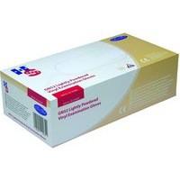 Handsafe Polypropylene Vinyl Gloves Large Pack of 100 Clear GN52