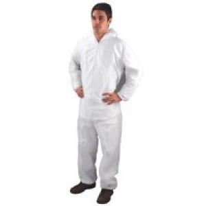 HPC Non-Woven Coverall XL White DC03