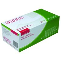 Shield P/F Latex Gloves M Pk100 Pk10