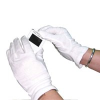 HPC Knitted Cotton Gloves Medium White Pack of 10 GI/NCWO