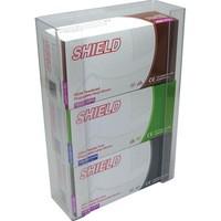Shield Triple Glove Dispenser Clear Pack 2 GE/TGD