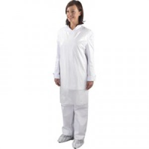 Shield White Aprons On a Roll Pack of 5 A2W/R