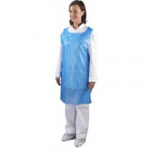 Shield Blue Aprons On a Roll Pack of 5 A2B/R