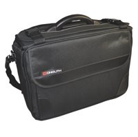 Monolith Polycanvas Pilot Case 15.4in Laptop Compartment Black Code 2168