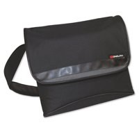 Monolith Stylish Nylon Messenger Bag Black And Grey 2386