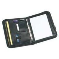 Monolith Zip-Fastening Folio Case A4 Black 2754