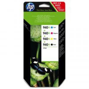 HP Officejet 940xl Combo Ink Cartridge KCMY C2N93AE