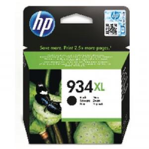HP Inkjet Cartridge 25.5ml Black No.934XL C2P23A