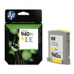 Hewlett Packard No940 XL Ink Cartridge Yellow OfficeJet Pro 8000/8500 C4909AE