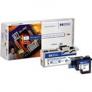 Hewlett Packard No81 Dye Print Head and Cleaner Black C4950A