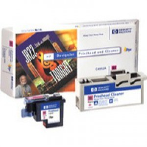 Hewlett Packard No81 Dye Print Head and Cleaner Magenta C4952A