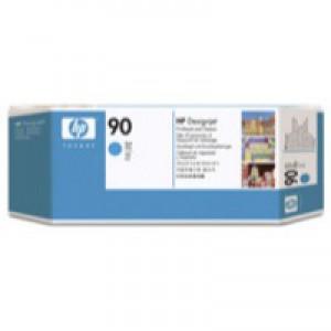 Hewlett Packard No90 Print Head And Cleaner Cyan C5055A