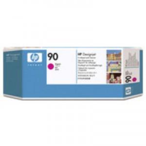Hewlett Packard No90 Print Head And Cleaner Magenta C5056A