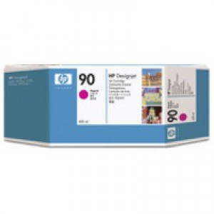 Hewlett Packard No90 Inkjet Cartridge 400ml Magenta C5063A