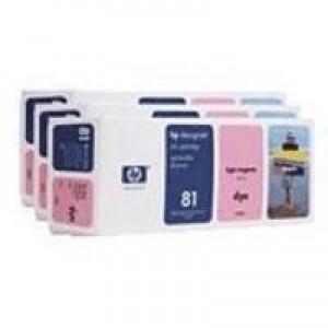Hewlett Packard No81 Dye 3 Ink Multi-Pack Inkjet Cartridge Light Magenta C5071A
