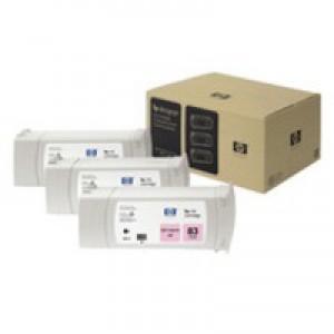 Hewlett Packard No83 UV 3 Ink Multi-Pack Inkjet Cartridge Light Magenta C5077A