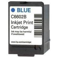 Hewlett Packard 1.0 EPOS Inkjet Print Cartridge Blue C6602B