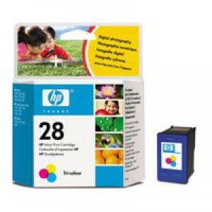 Hewlett Packard No28 Inkjet Cartridge 3-Colour C8728AE