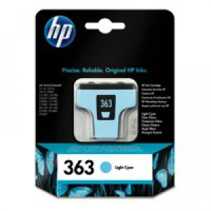 Hewlett Packard No363 Inkjet Cartridge Light Cyan C8774EE