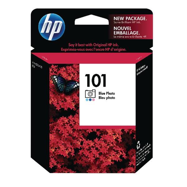 HP 101 Blue Photo Original Ink Cartridge