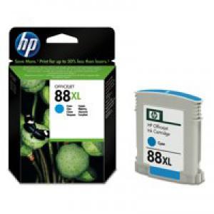 Hewlett Packard No88XL OfficeJet Inkjet Cartridge High Yield Cyan C9391AE