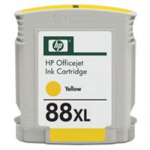 Hewlett Packard No88XL OfficeJet Inkjet Cartridge High Yield Yellow C9393AE