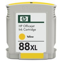 Hewlett Packard No88XL OfficeJet Inkjet Cartridge High Yield Yellow C9393AE