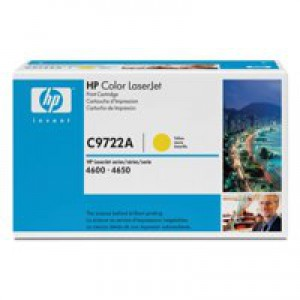 Hewlett Packard No641A LaserJet Toner Cartridge Yellow C9722A