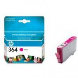 Hewlett Packard [HP] No. 364 Inkjet Cartridge Page Life 300pp Magenta Ref CB319EE