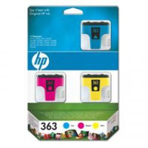 Hewlett Packard No363 Inkjet Cartridge Cyan/Magenta/Yellow CB333EE