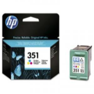 Hewlett Packard No351 Inkjet Cartridge 3-Colour CB337EE