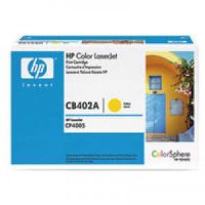 Hewlett Packard No642A LaserJet Toner Cartridge Yellow CB402A