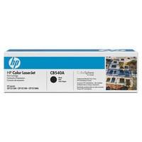 Hewlett Packard No125A Laserjet Toner Cartridge Black CB540A