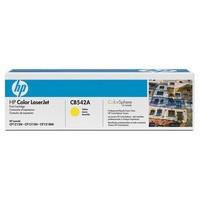 Hewlett Packard No125A Laserjet Toner Cartridge Yellow CB542A
