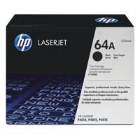 Hewlett Packard No64A Laserjet Toner Cartridge Black CC364A