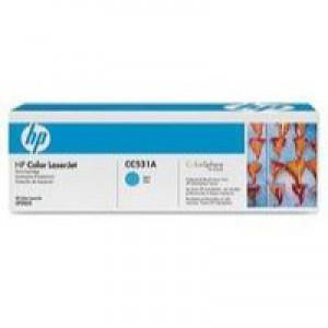 Hewlett Packard No304A Colour LaserJet Toner Cartridge Cyan CC531A