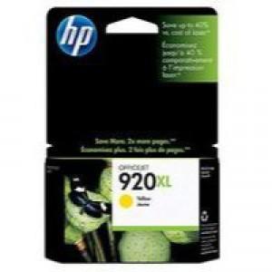 Hewlett Packard No920 XL Ink Cartridge Yellow OfficeJet 6500 CD974AE